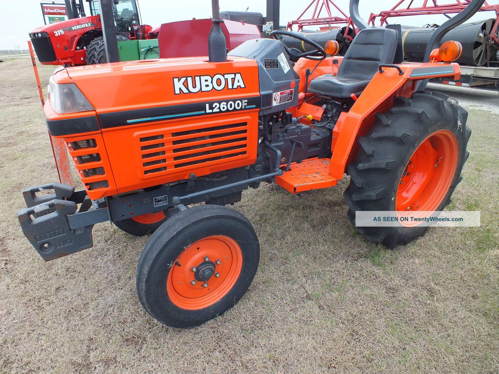 2001 Kubota L2600f Tractors photo