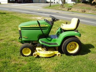John Deere Gt 225 Riding Mower Hydrostatic photo