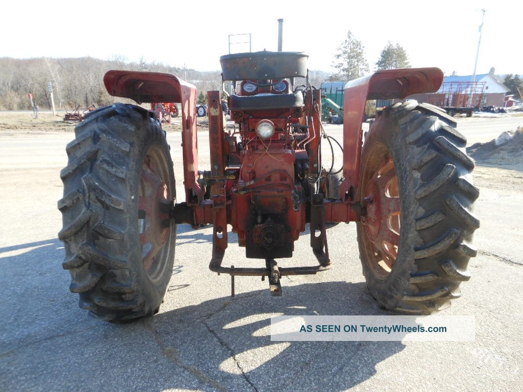 International 656 Tractor With Loader : Ih farmall tractor w quick tach loader