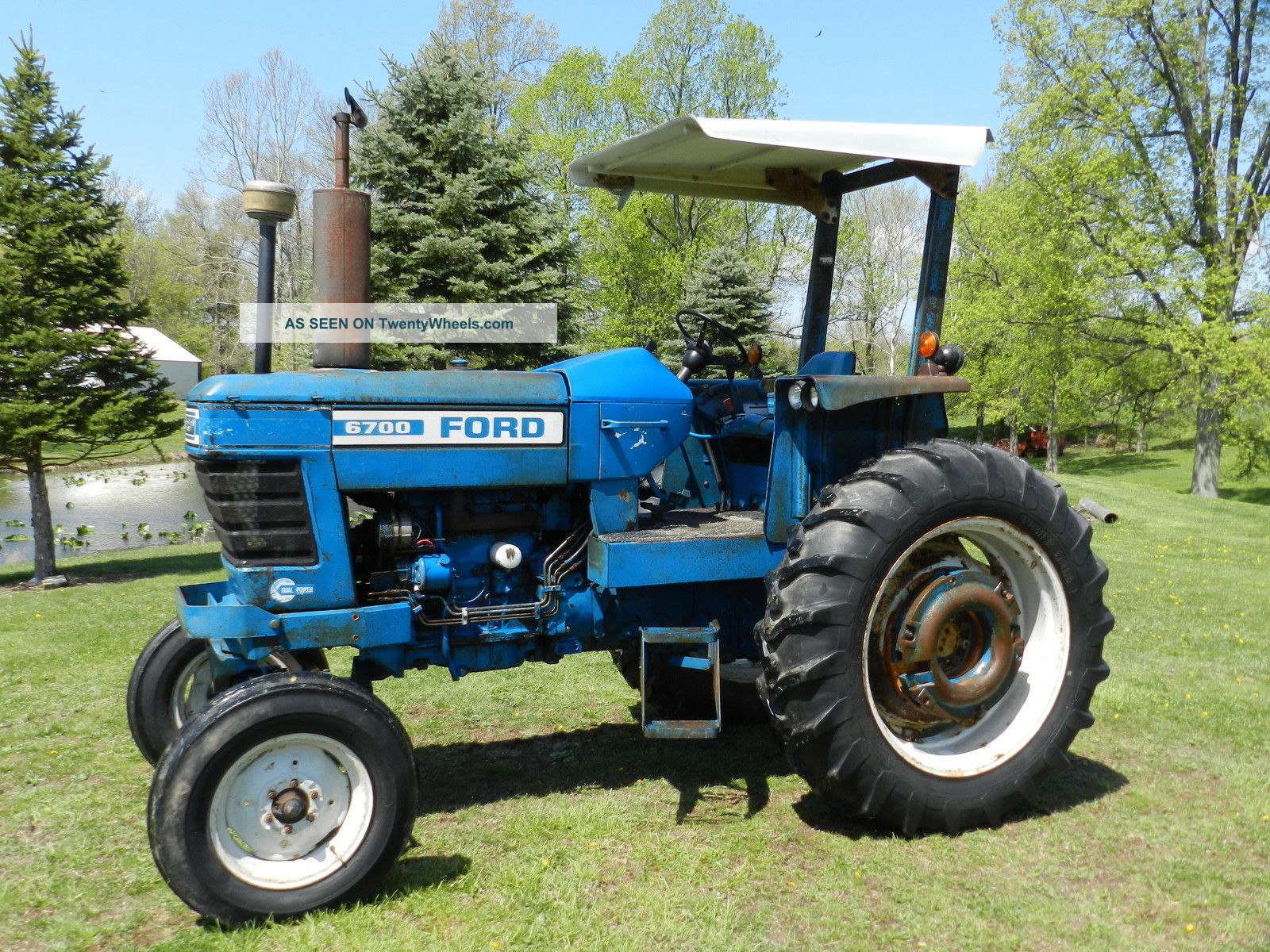 Ford 6700 Tractor - Diesel Tractors photo