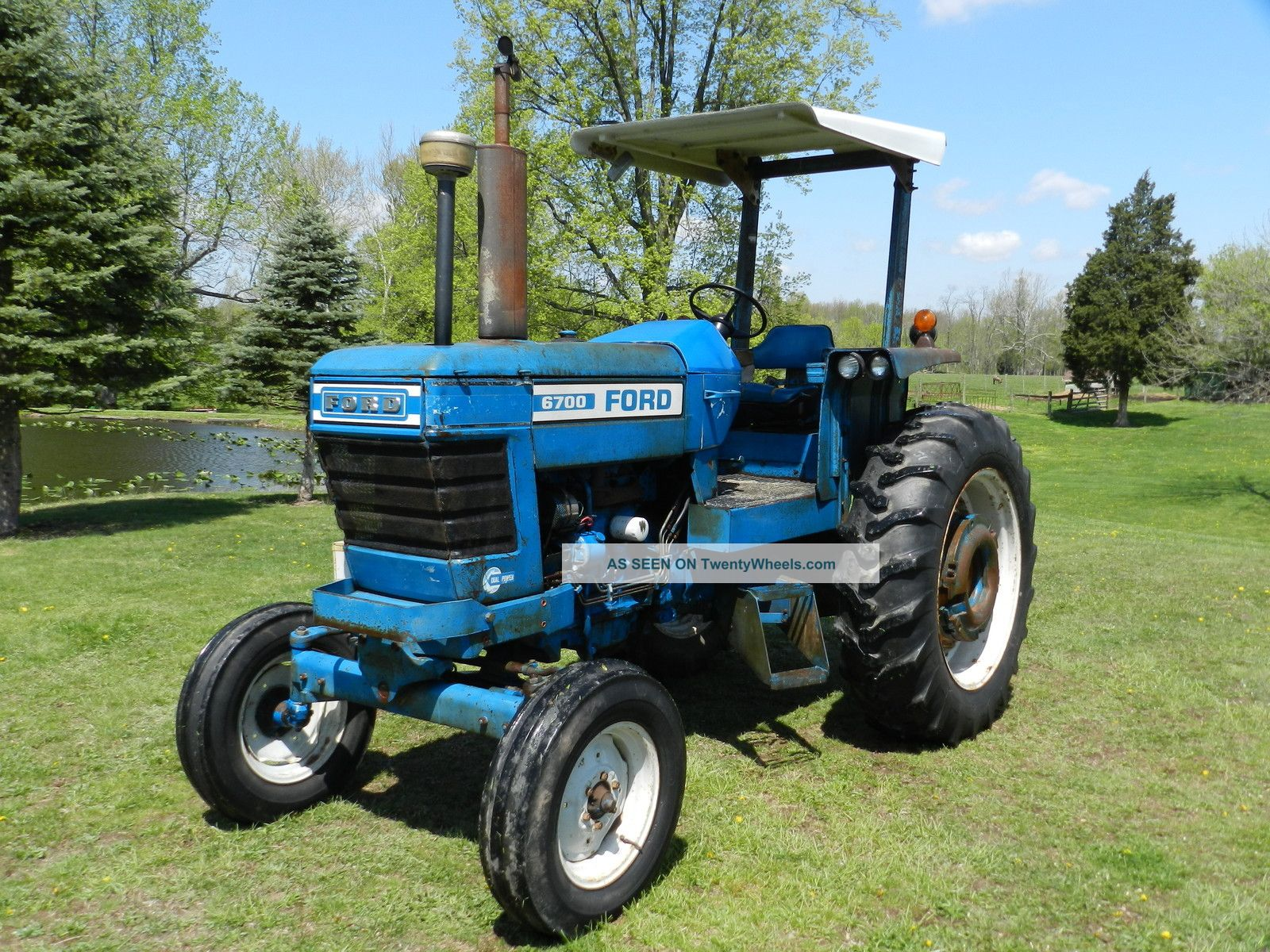 6700 Ford Tractor : Ford tractor diesel