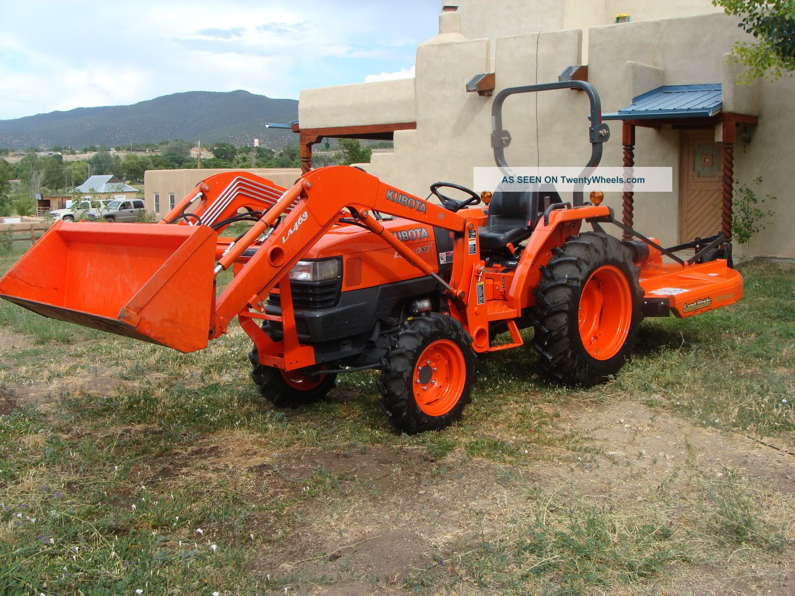 Kubota L3700su Tractors photo