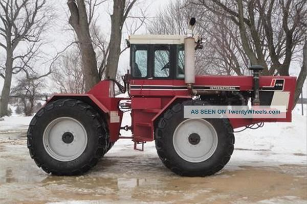 1981 International 4786 Tractor - 365 Hp 4wd Tractors photo