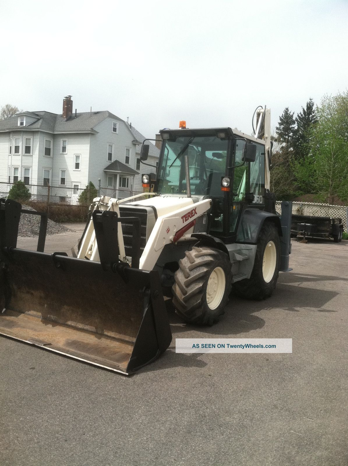 1999 Terex 860 Backhoe Backhoe Loaders photo