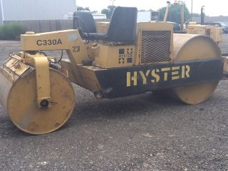 Hyster C330a Compactor Roller 5 Ton Compactor photo