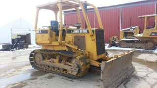 1988 John Deere 550g Crawler Track Loader Construction Machine Bulldozer. . . photo