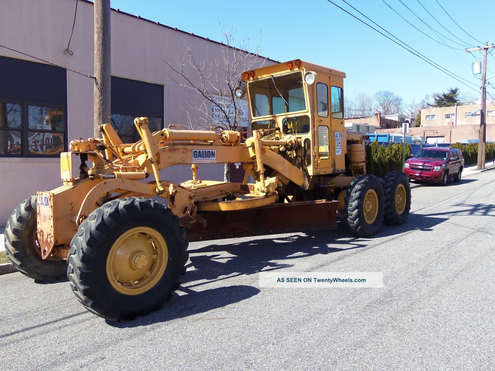 L@@k Galion 104b Diesel Road Grader In Jersey Graders photo