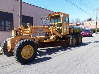 L@@k Galion 104b Diesel Road Grader In Jersey photo