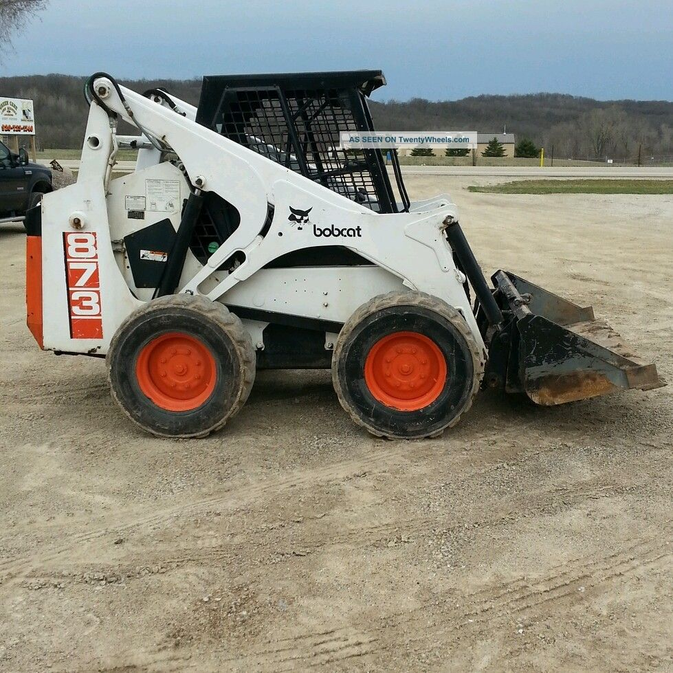 Bobcat 873 Skid Steer Loader Skid Steer Loaders photo