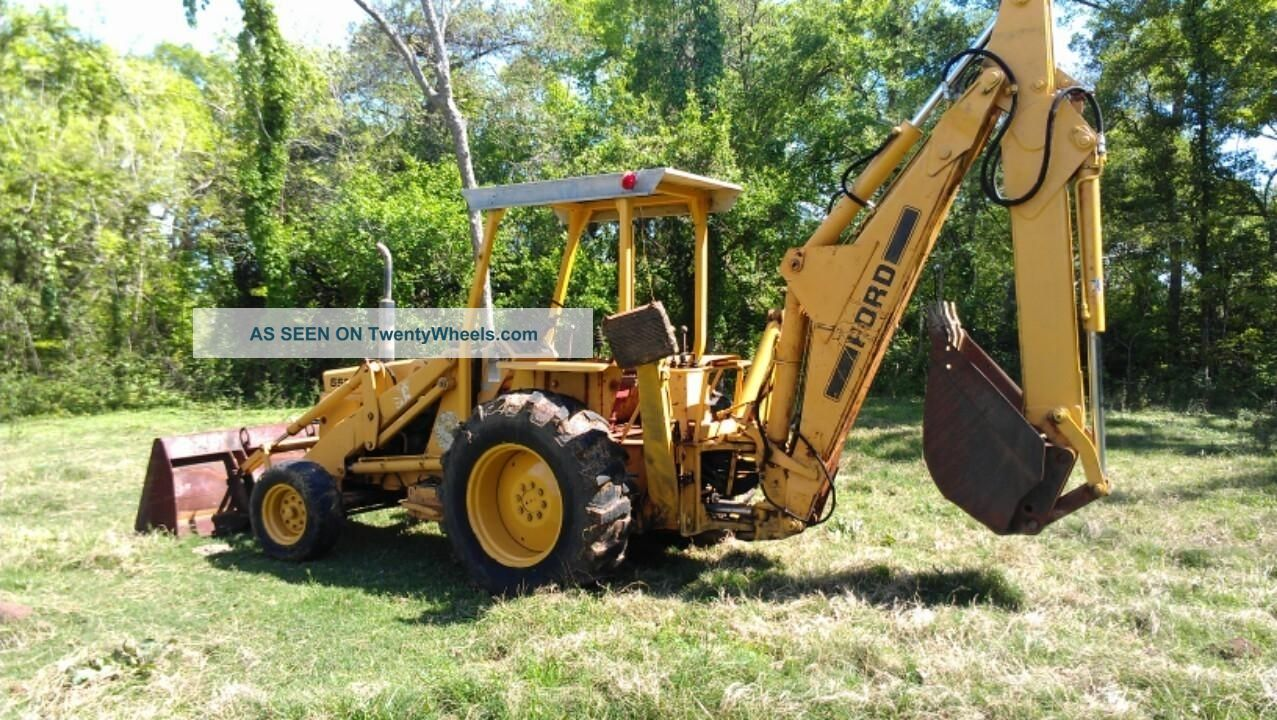 ford 550 555 tractor loader backhoe ford repair manual