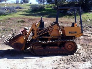 Case 450 Crawler Track Loader photo