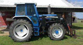 1986 Ford 7710 4wd Tractor photo