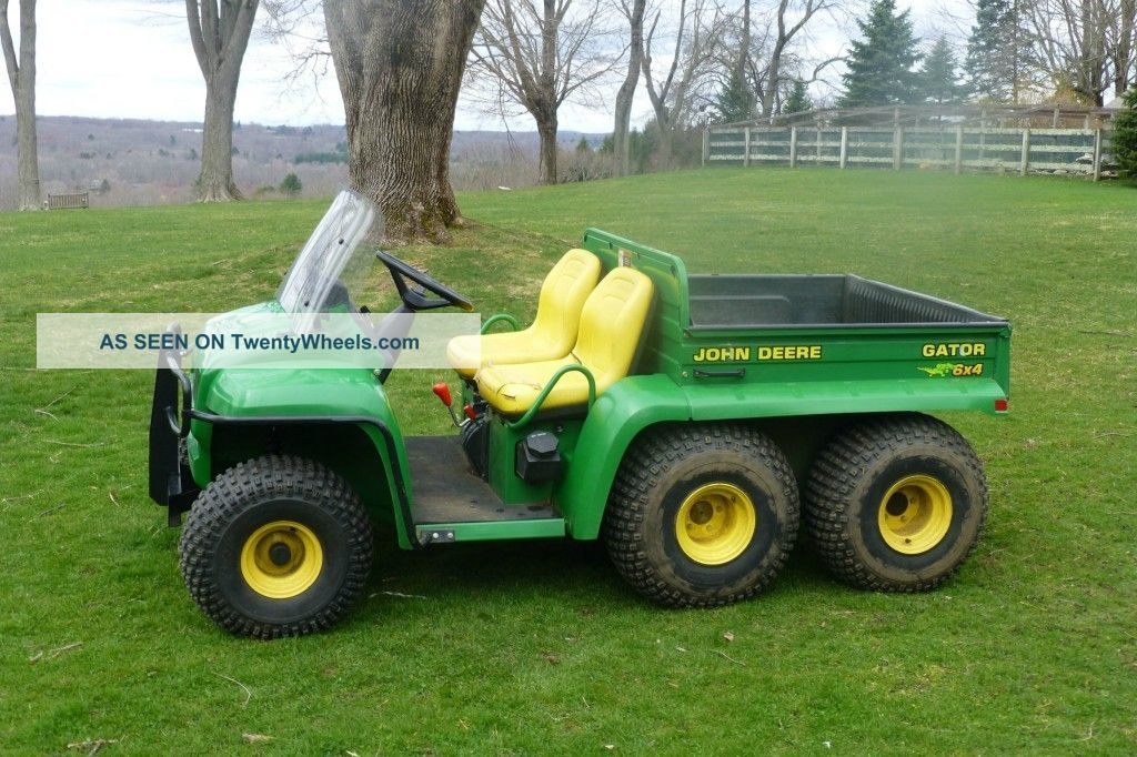 John Deere Gator 6x4,  Only 600 Hours,  Power Dump, Utility Vehicles photo