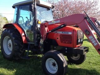 2002 Massey Ferguson 4355 Cab Tractor photo