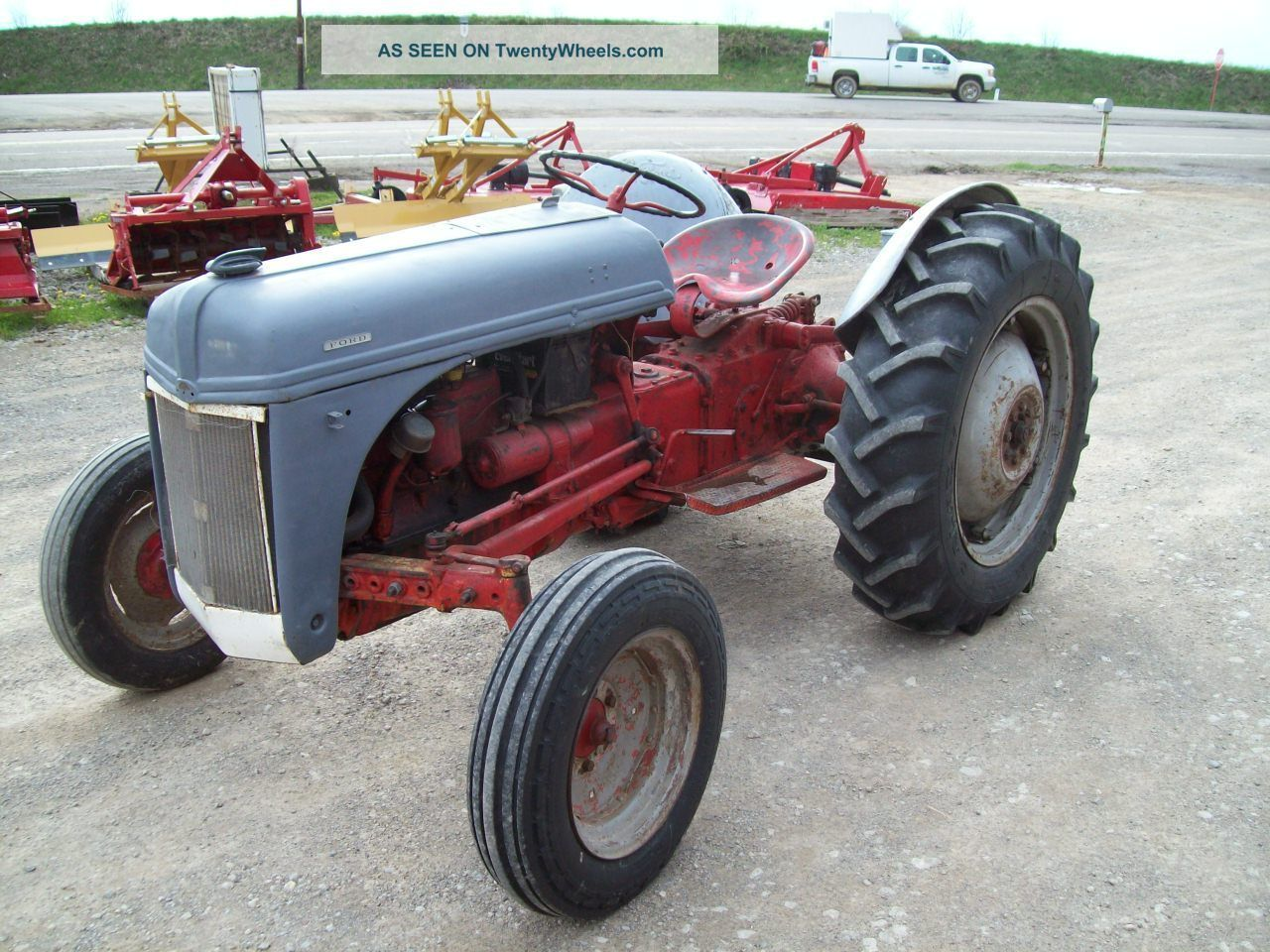 Ford 8n Tractor ; ; Sells Tractors photo