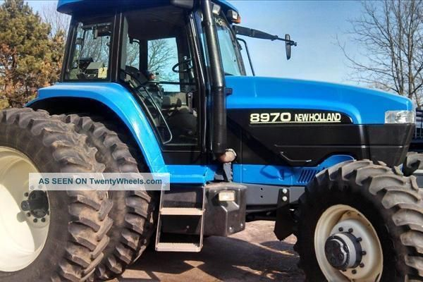 1995 Holland 8970 Mfwd Tractor Tractors photo