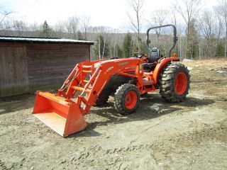 2011 L3940dt Kubota Tractor With Accessories photo