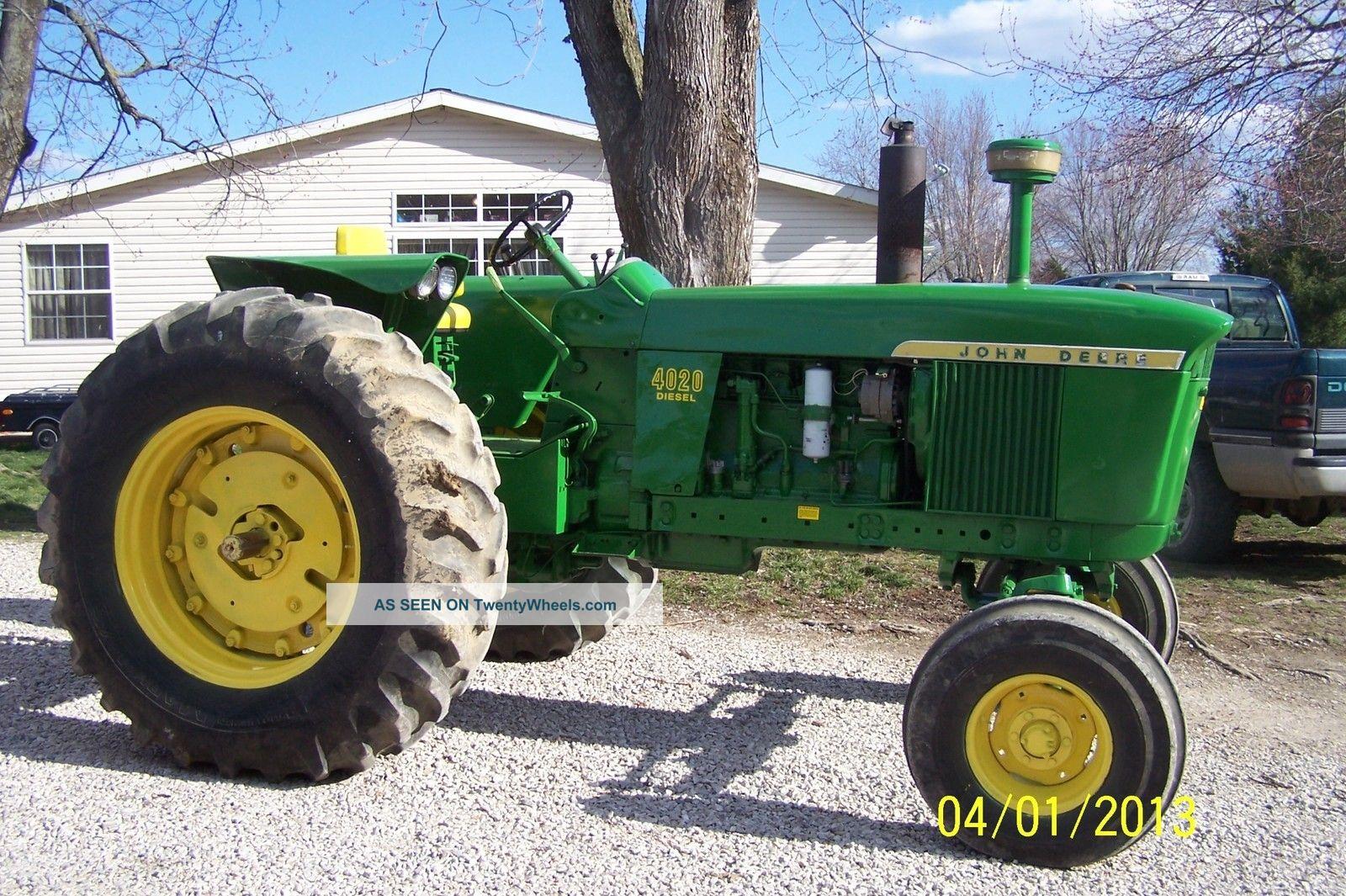 John Deere 4020 Diesel Tractor Tractors photo
