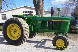 John Deere 4020 Diesel Tractor photo