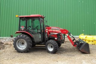 2010 Mccormick Ct50u Tractor With Loader photo