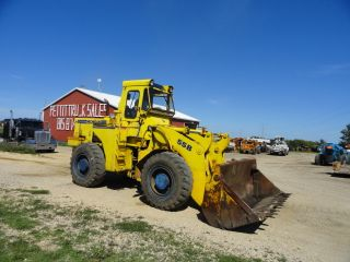 Michigan 55b Wheel Loader Cab Tight Dry Machine Cummins 4 N 1 Bucket photo