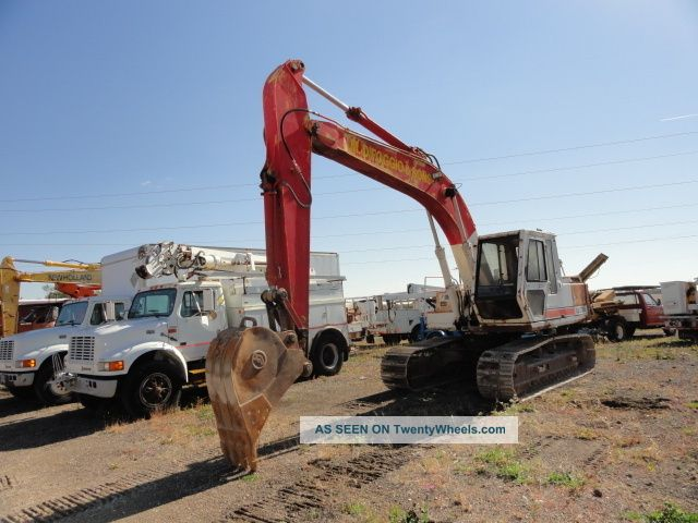 Link - Belt Ls - 2700c Ii Excavator 2) Buckets Works Good Excavators photo