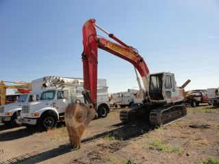 Link - Belt Ls - 2700c Ii Excavator 2) Buckets Works Good photo