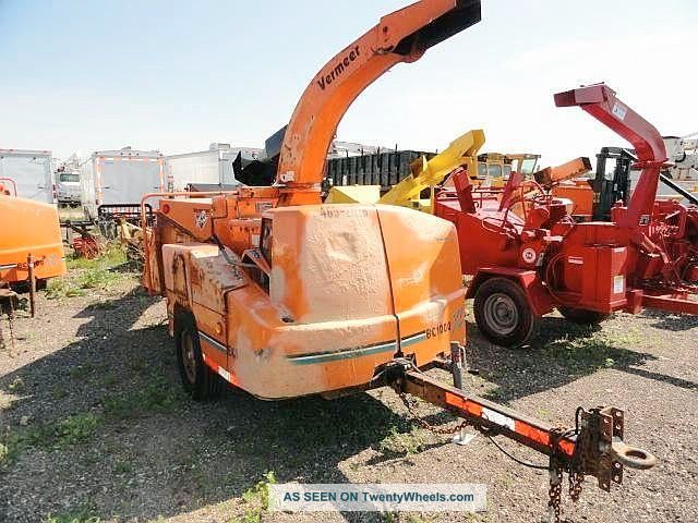 Vermeer Bc1000xl Runs And Operates Wood Chipper Wood Chippers & Stump Grinders photo