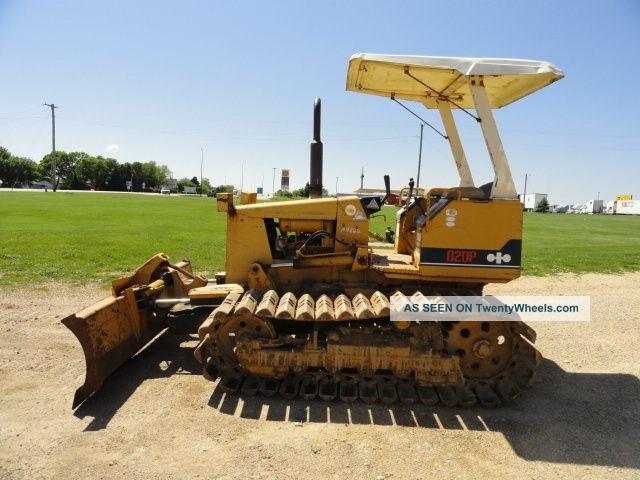 Komatsu D20p Crawler Tractor Dozer 6 Way Blade Runs And Operates Well Crawler Dozers & Loaders photo