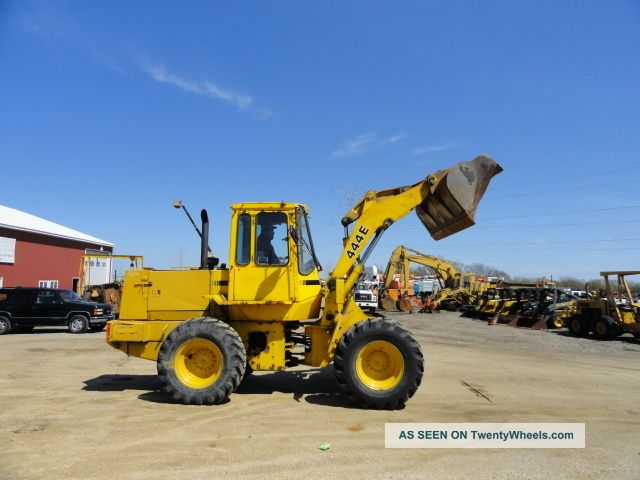 John Deere 444 E Wheel Loader Municipal Owned Wheel Loaders photo