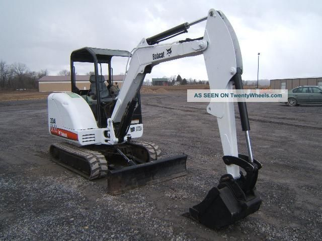 Bobcat 334g Excavator Excavators photo