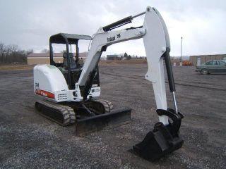 Bobcat 334g Excavator photo