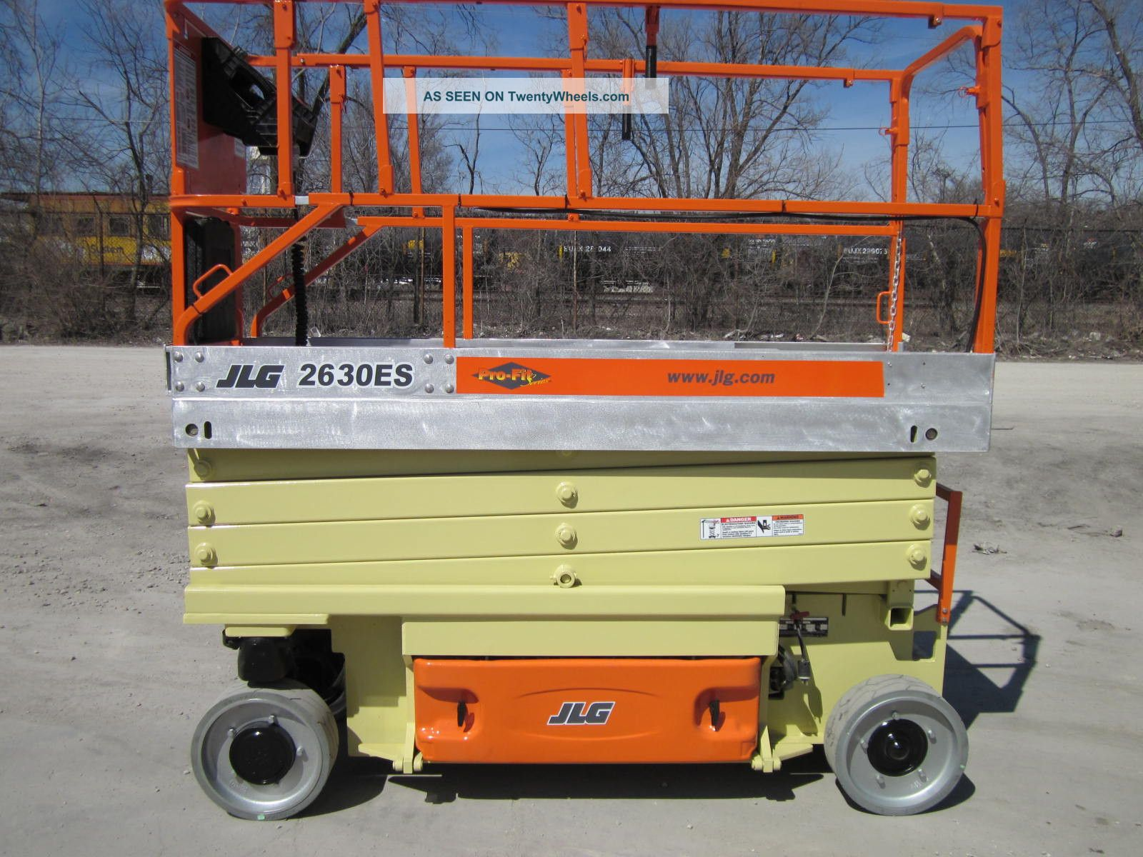 2005 Jlg 2630es Scissor Lift Manlift Boom Aerial Genie Skyjack Lifts photo