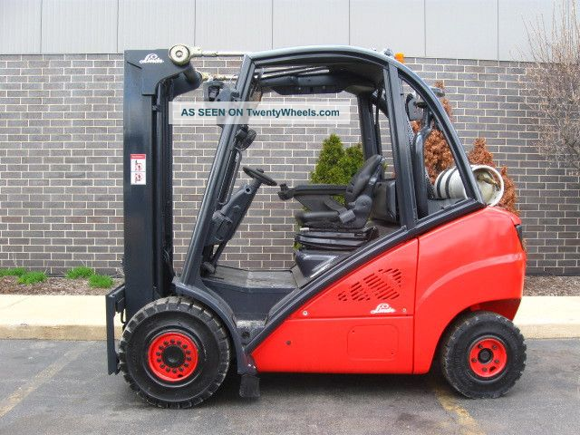 2007 Linde H30t 6000 Lb Capacity Forklift Lift Truck Solid Pneumatic Tire Forklifts & Other Lifts photo