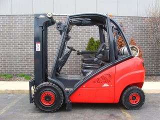 2007 Linde H30t 6000 Lb Capacity Forklift Lift Truck Solid Pneumatic Tire photo