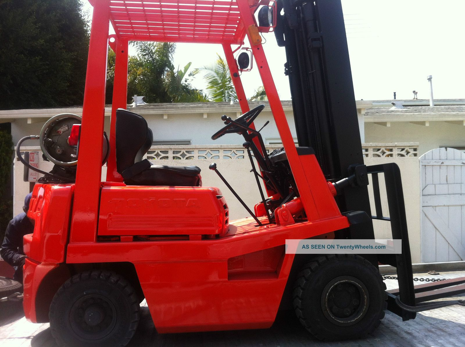 Toyota Forklift 1500lb 4fg15 Forklifts & Other Lifts photo