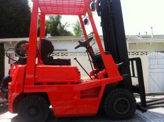 Toyota Forklift 1500lb 4fg15 photo