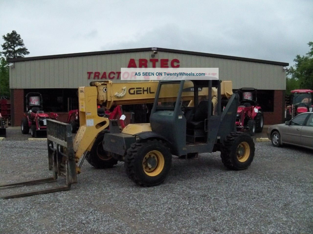 2006 Gehl Rs5 - 34 Telescopic Forklift - Loader Lift Tractor - Foam Filled Tires Forklifts & Other Lifts photo