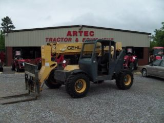 2006 Gehl Rs5 - 34 Telescopic Forklift - Loader Lift Tractor - Foam Filled Tires photo