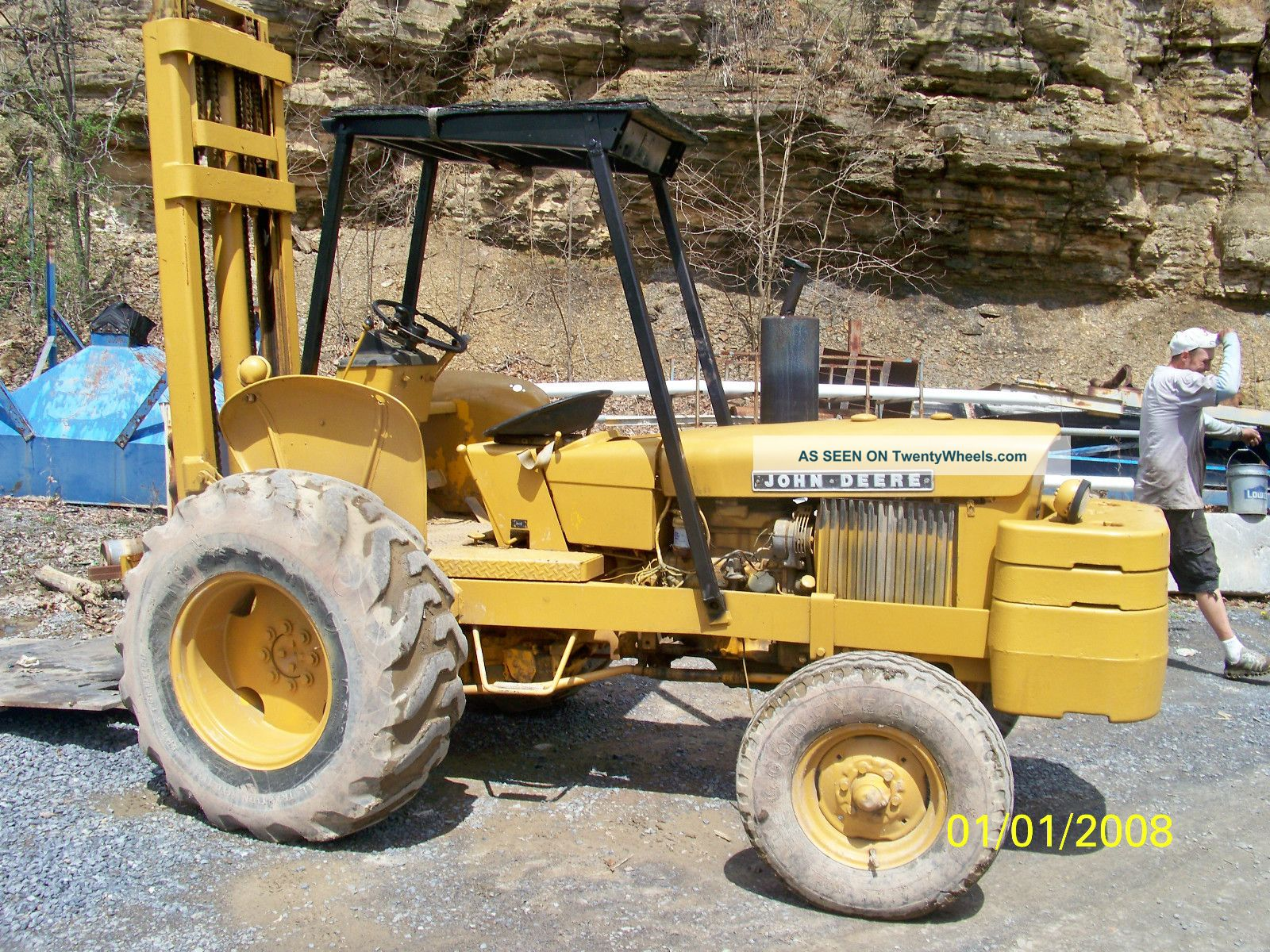 John Deere 380d Forklift Forklifts & Other Lifts photo