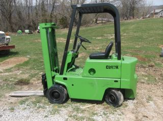 Clark C500y30 Fork Lift Fork Truck 3,  000 Lbs 153