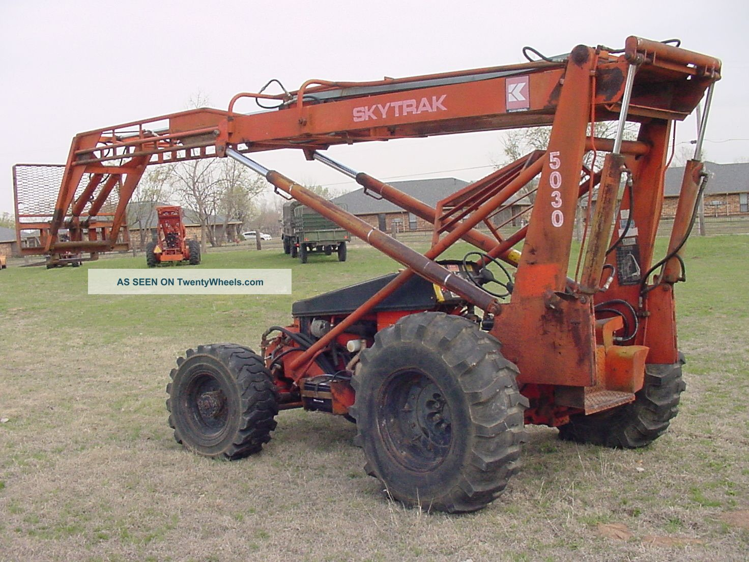 Skytrak 5030 High Lift Forklift 4x4 Diesel Bargain Forklifts & Other Lifts photo