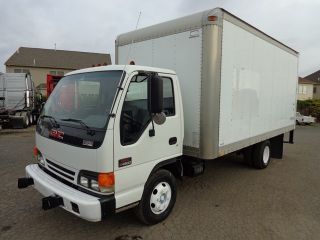 2002 Gmc W4500 16ft Box Truck photo