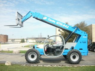 2007 Genie Gth842 Telehandler Terex Th842c Telescopic Forklift Reach Lift photo