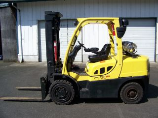 2009 Hyster H90ft Forklift,  Propane,  Monotrol Pedal,  Solid Pneumatic Tires,  Lpg photo