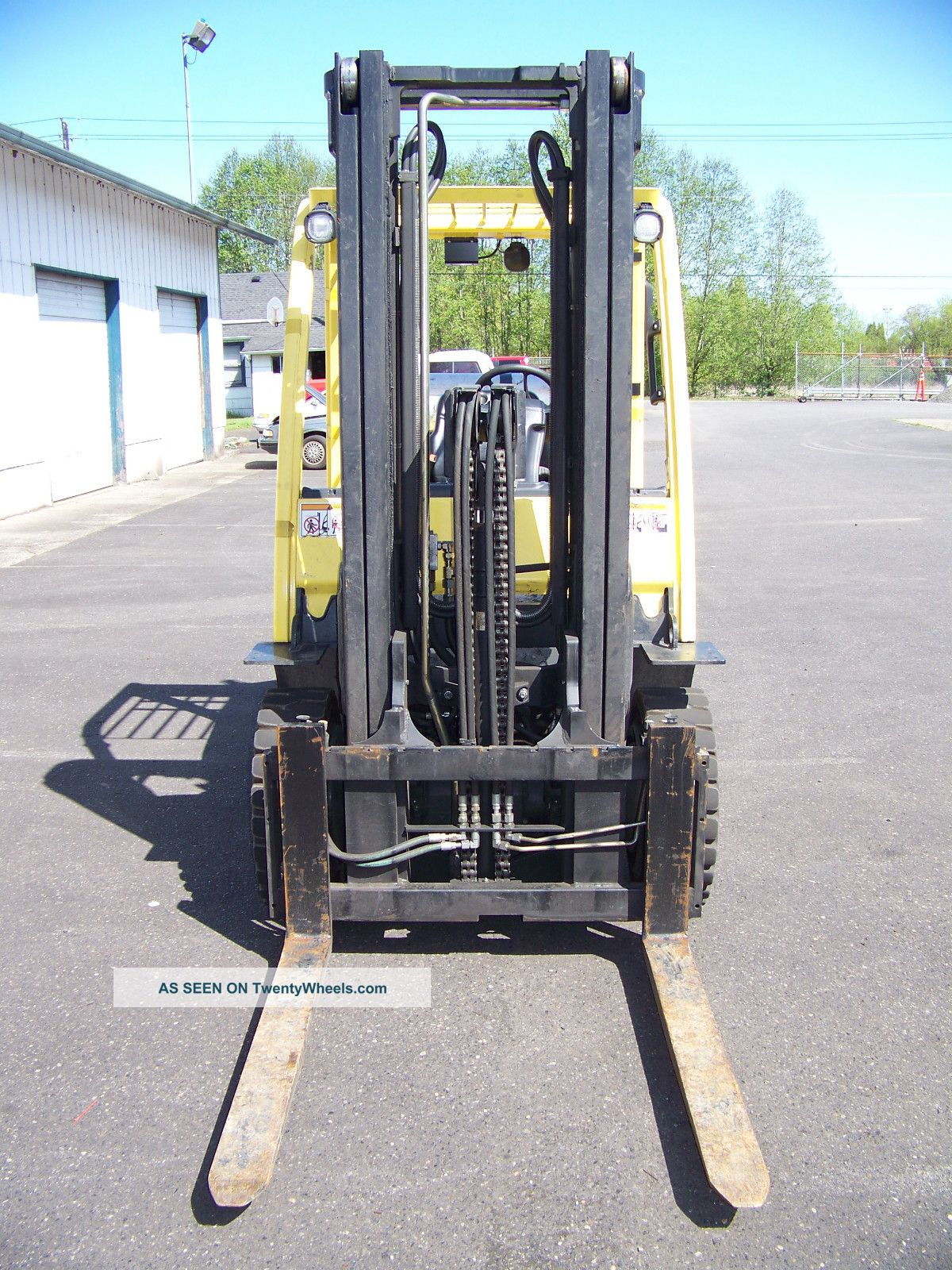 Fork Lift Pedals : Hyster h ft forklift propane monotrol pedal solid
