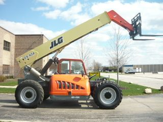 Jlg G9 - 43a Reach Forklift Telehandler Gradall Telescopic Serviced Reach Tl943 photo