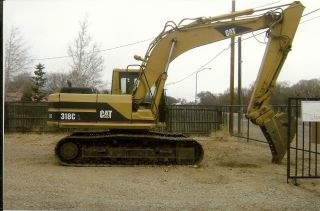 2000 Cat 318bl Hydraulic Excavator photo