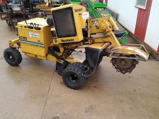 Vermeer 352 Stump Grinder photo