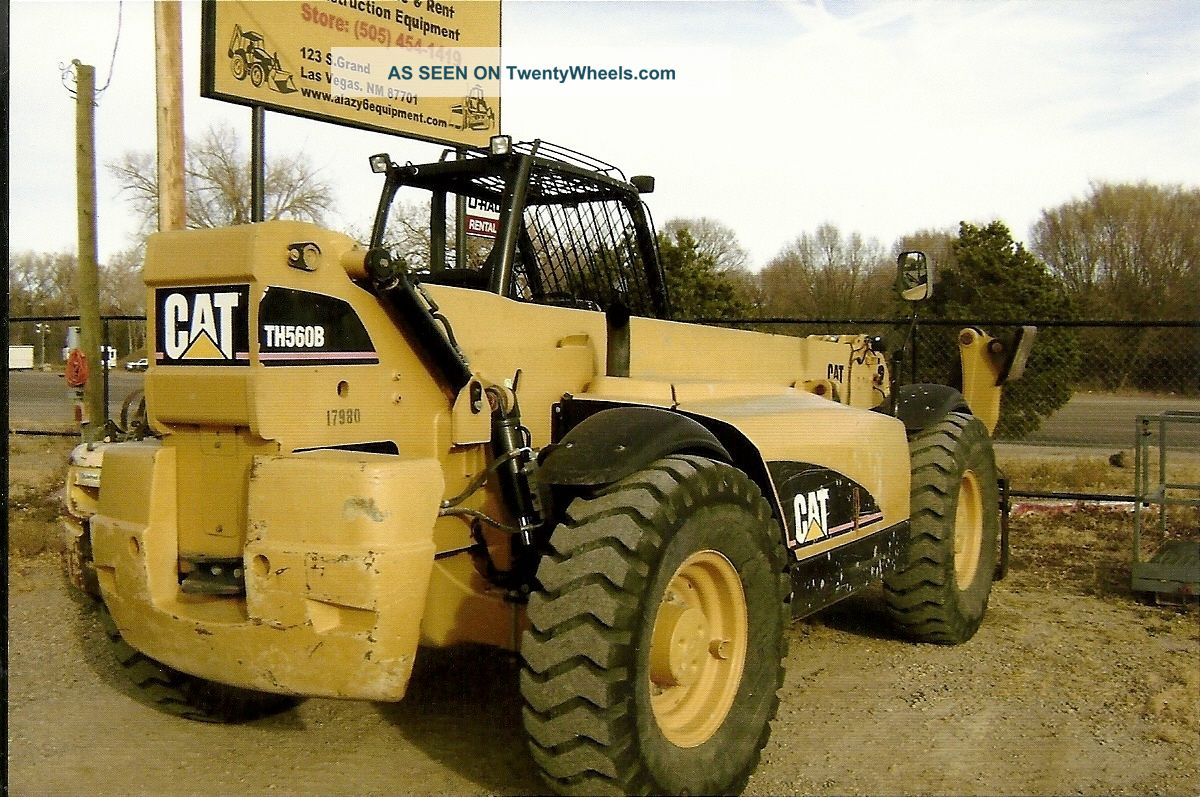 Cat Lift Boom : Cat th extended reach fork lift